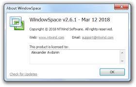 WindowSpace centerr