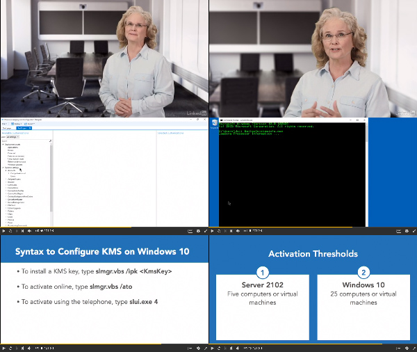 Windows 10: Implementation center