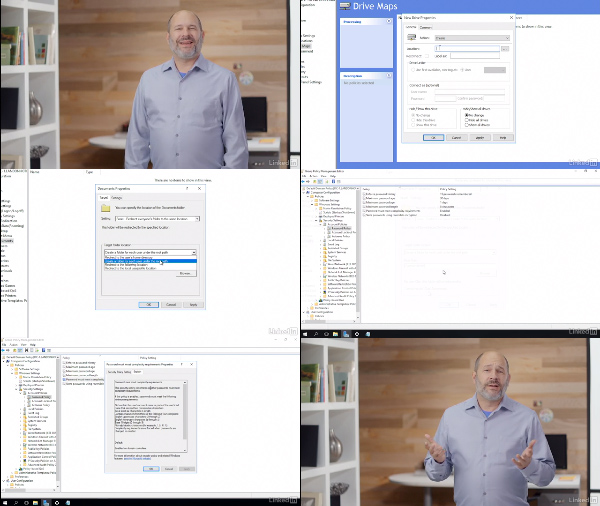 Windows Server 2016: Implementing Group Policy center