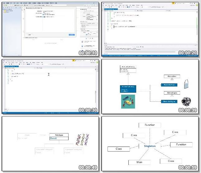 دانلود فیلم آموزشی C++ Design Patterns: Creational از Lynda
