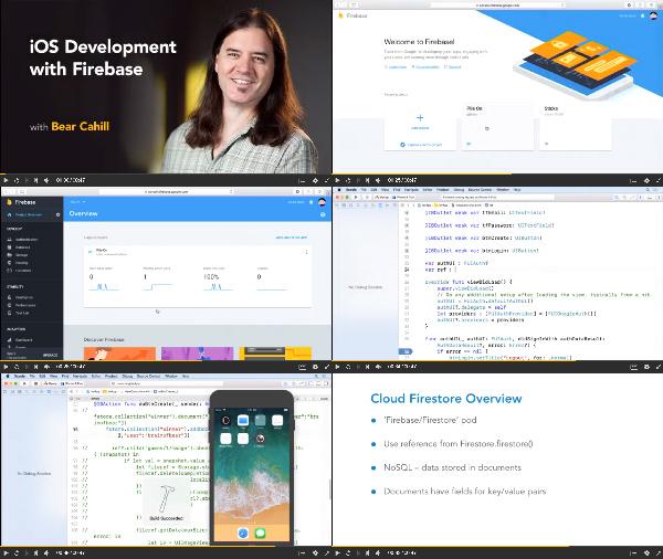 iOS Development with Firebase center
