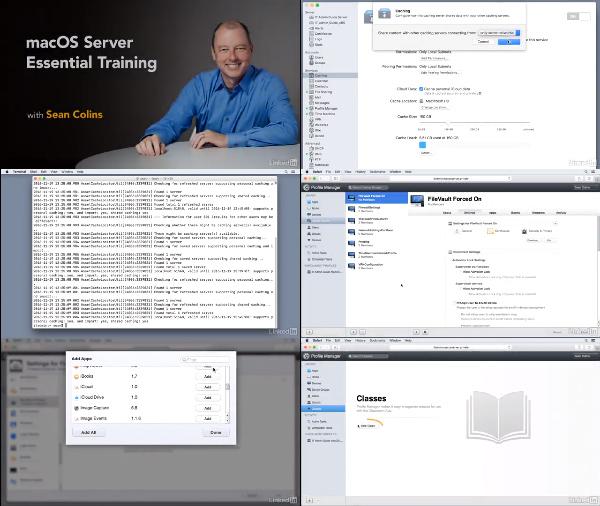 macOS Server Essential Training center
