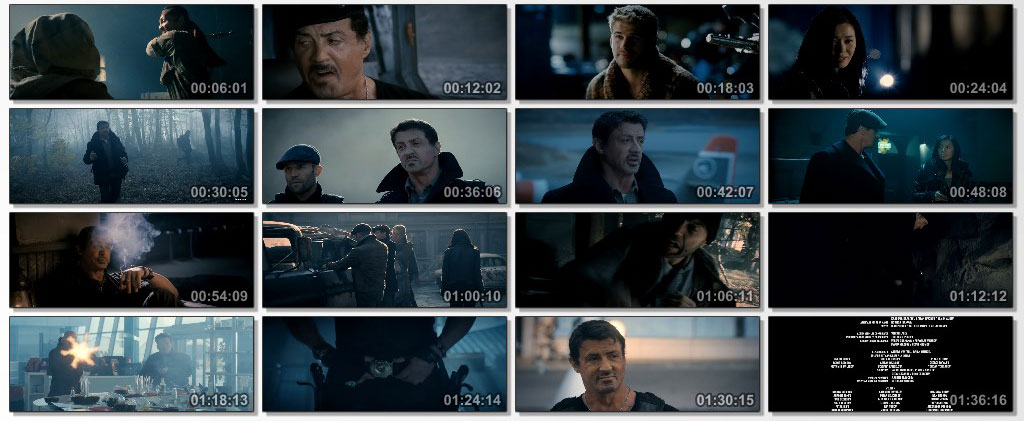 the expendables 2 - screen