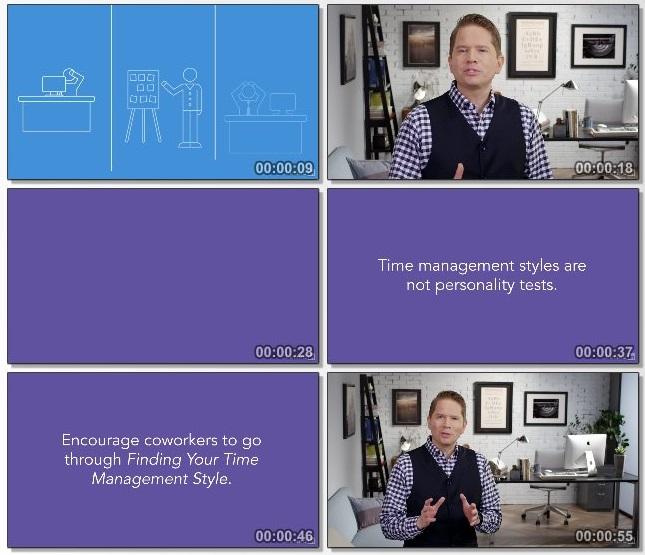 دانلود فیلم آموزشی Finding Your Time Management Style از Lynda