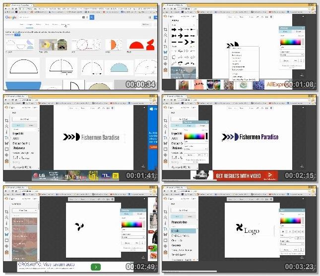 دانلود فیلم آموزشی Create a Logo & Eye Catching Social Network Images