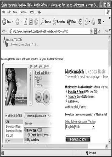 دانلود نرم افزار MusicMatch Jukebox Plus v10 00 4040 - Win