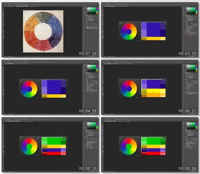 دانلود فیلم آموزشی Color Harmony and Retouching in Photoshop