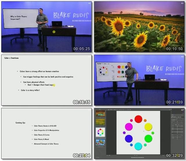 دانلود فیلم آموزشی Color Theory for Photographers از CreativeLive