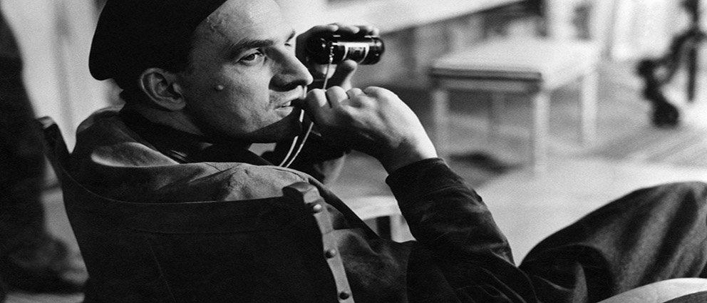 (FILES) This file picture taken in the 1960s in Sweden shows legendary Swedish filmmaker and theater director Ingmar Bergman shooting a movie. Swedish film director Ingmar Bergman died Monday aged 89, his sister Eva told the TT news agency. AFP PHOTO PRESSENBILD