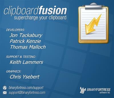 ClipboardFusion Pro center