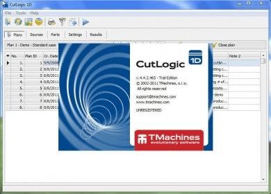 CutLogic 1D center
