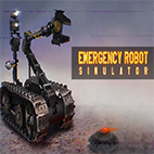 Emergency Robot Simulator Icon