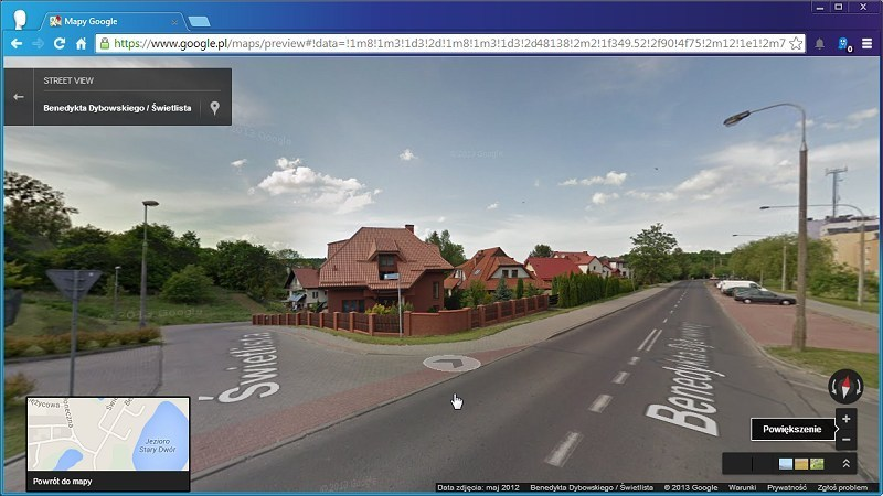 Google StreetView Images Downloader cente