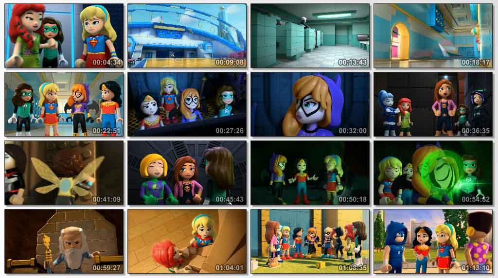 دانلود انیمیشن Lego DC Super Hero Girls Super Villain High 2018