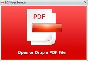PDF Page Delete center