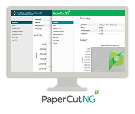 PaperCut NG center