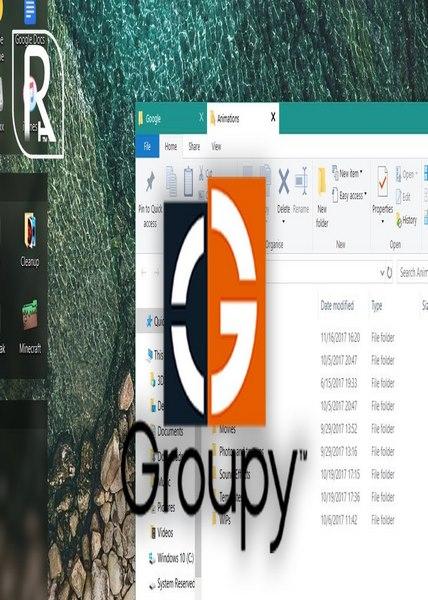 دانلود نرم افزار Stardock Groupy v1 20 - Win
