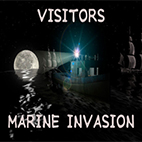 Visitors Marine Invasion Icon