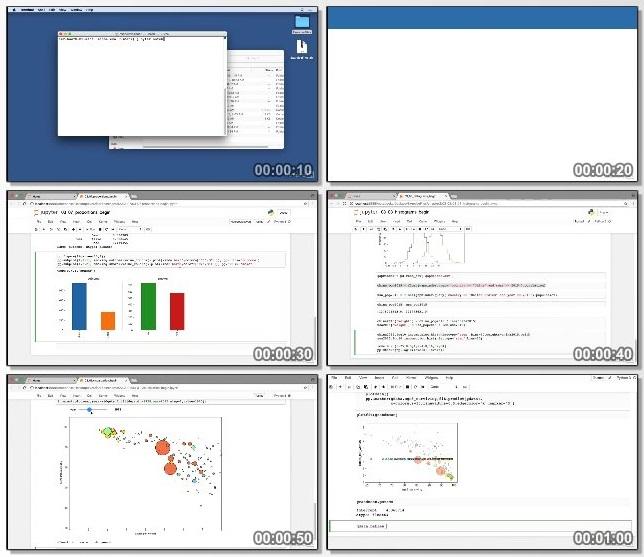 دانلود فیلم آموزشی Python Statistics Essential Training از Lynda