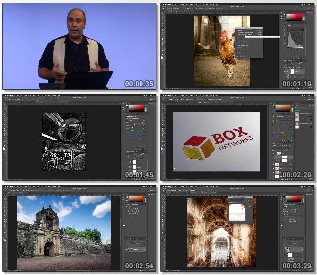 دانلود فیلم آموزشی Photoshop: Advanced Adjustment Layer and Blend Modes