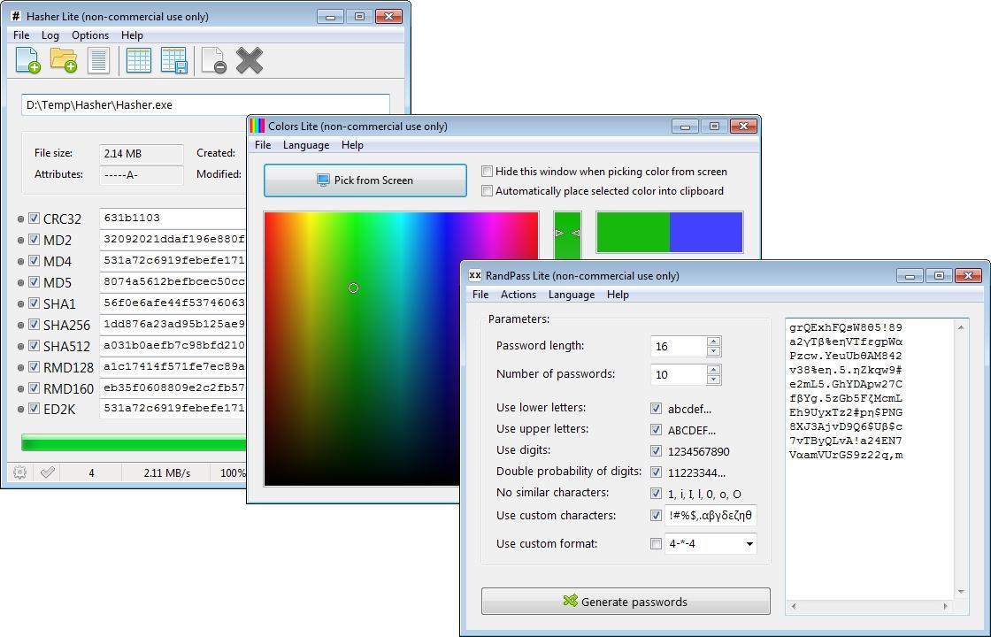 color pro center