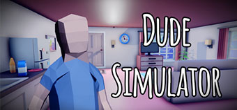 Dude Simulator - Screen