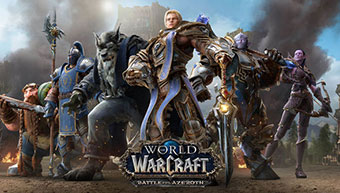 World of Warcraft Battle for Azeroth - Screen