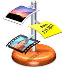 iClip 5.2.6b3 - Mac logo