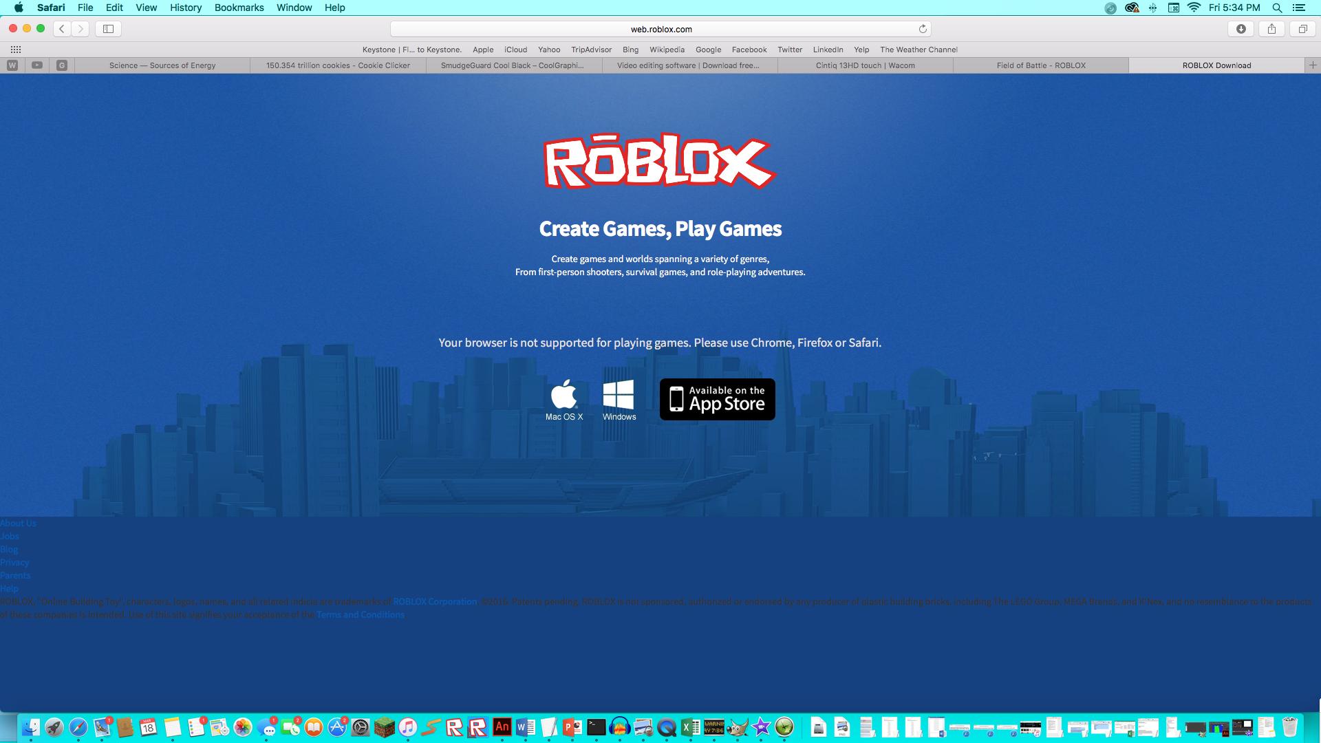 Roblox Studio center