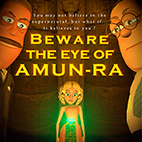 Beware the Eye of Amun-Ra 2018 logo
