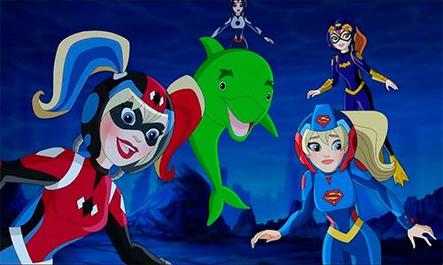 DC Super Hero Girls: Legends of Atlantis 2018 center