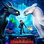 How to Train Your Dragon: The Hidden World 2019 logo