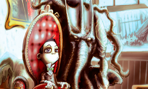 Howard Lovecraft and the Undersea Kingdom 2017 center