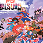 Marvel Rising Secret Warriors 2018 logo
