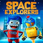 Space Explorers 2018 logo