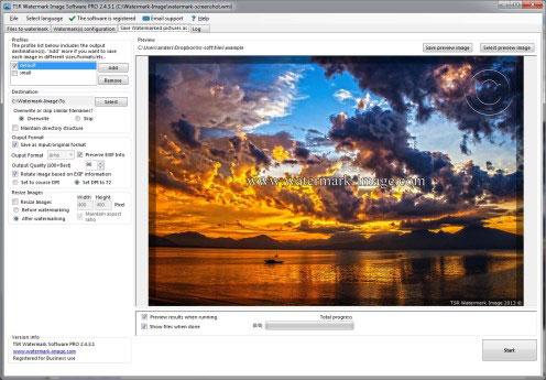 دانلود نرم افزار TSR Watermark Image Pro v3.6.1.1 - win