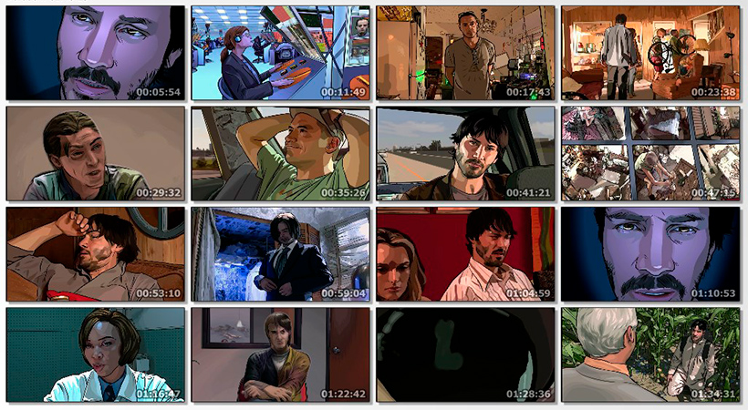 A Scanner Darkly 2006 center