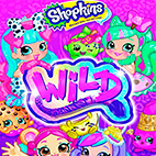 Shopkins Wild 2018 logo