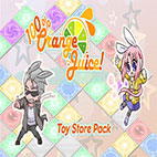 100 Orange Juice Toy Store Pack Icon