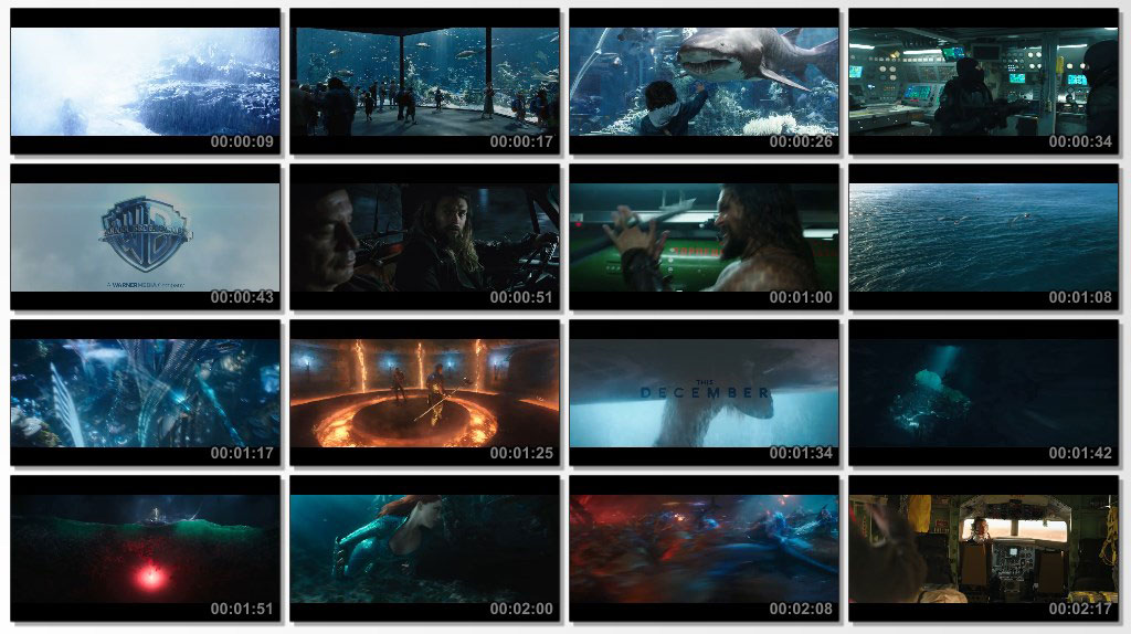 Aquaman 2018 - Screen