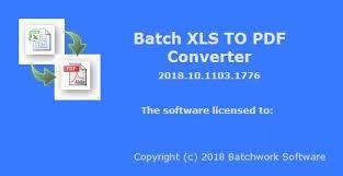 Batch XLS to PDF Converter center www.download.ir