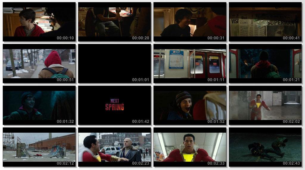 Shazam 2019 - Screen