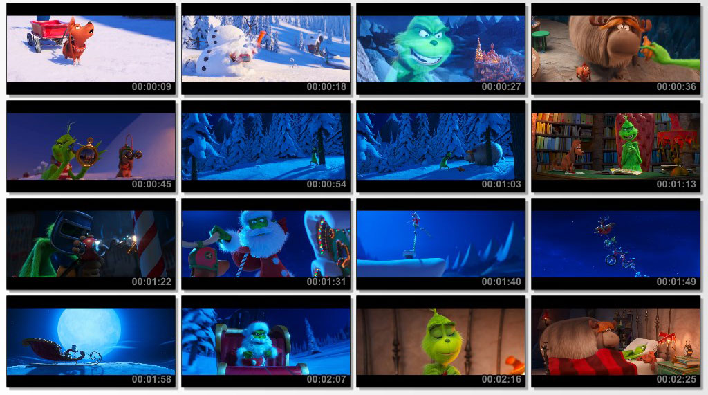 The Grinch 2018 - Screen