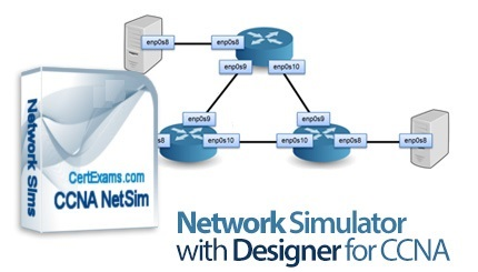 App Network Simulator With Designer For CCNA center www.download.ir