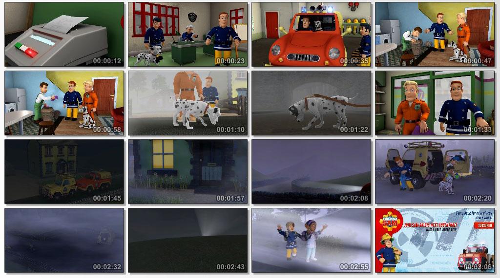 Fireman Sam - Screen