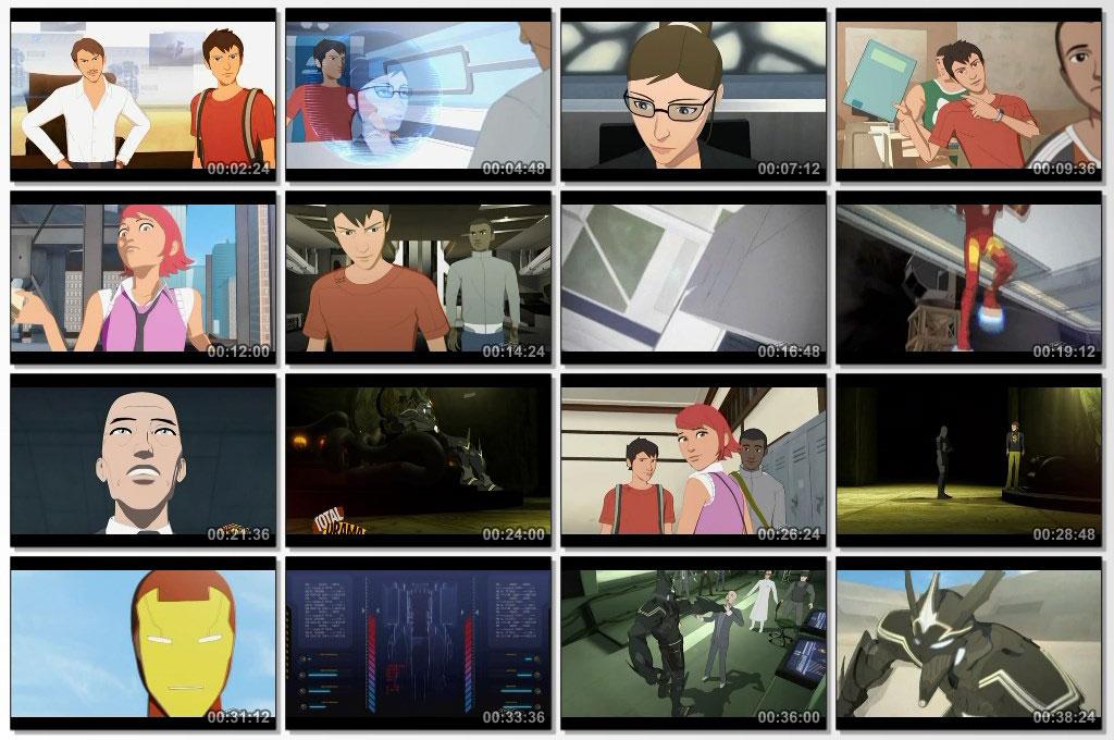 Iron Man Armored Adventures - Screen