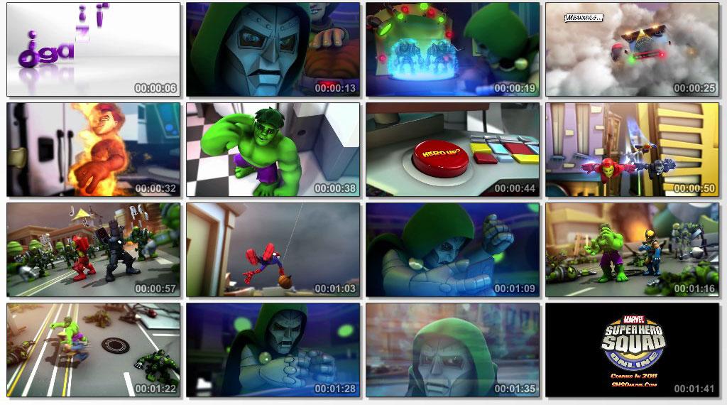 The Super Hero Squad Show - Screen