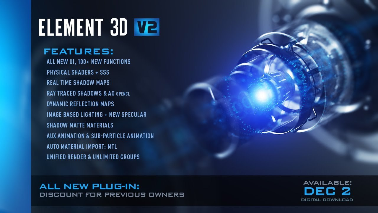 www.download.ir App Video Copilot Element 3D center