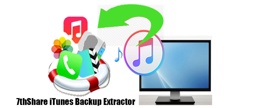 7thShare.iTunes.Backup.Extractor.center عکس سنتر