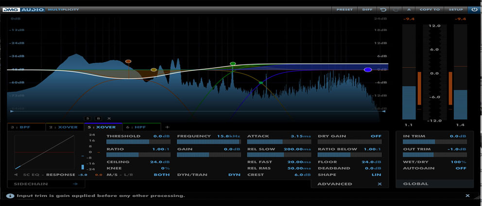 DMG.Audio.Multiplicity.center عکس سنتر